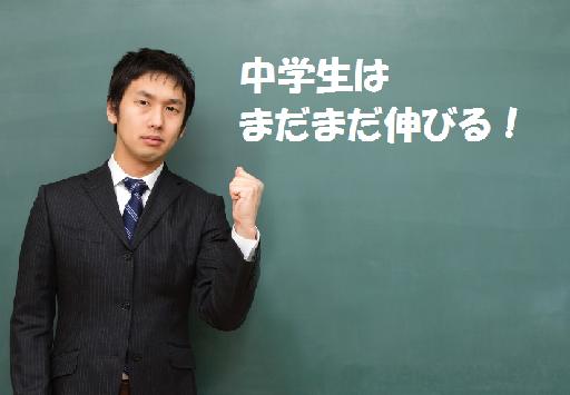 中学生に教える男性
