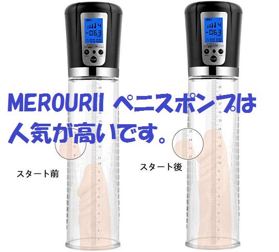 MEROURII ペニスポンプ